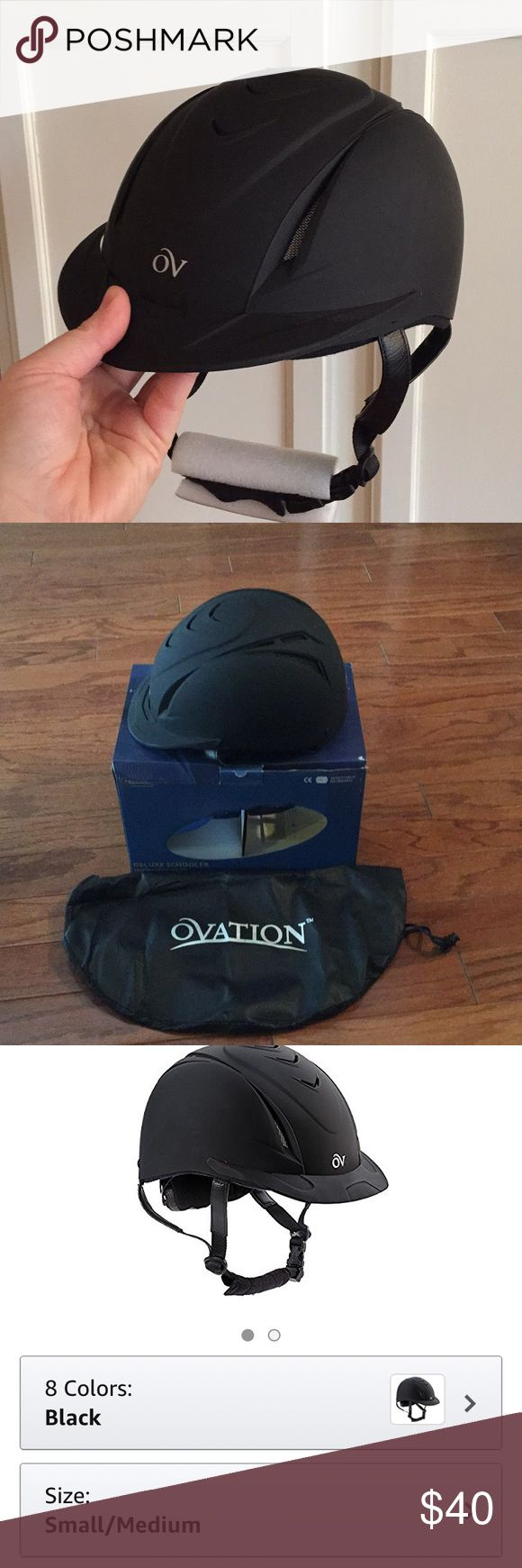 Ovation Deluxe Schooler Riding Helmet🌻 🌻Brand new in box! Never used. We purchased the wrong size and then waited too long to return.  Thanks! ovation Other
