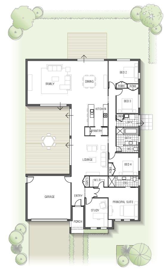 Kamala 1832 floor plan