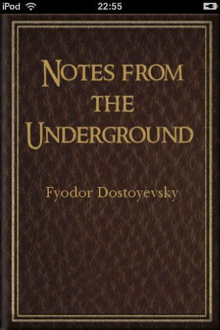 dostoevskys notes from the underground essay Amazoncom: notes from underground (second edition) (norton critical editions ) (9780393976120): fyodor dostoevsky, michael r katz: books  great bonus  stuff in the norton critical edition, including a parody essay by woody allen.