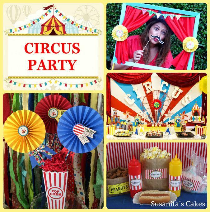 Ideas para una fiesta de Circo!!..#ideas #partyideas #partydecor #circusparty #fiestacirco #celebraconestilo #decoraconestilo #ideasparacelebrar #ideasdecoracion #fiestainfantil #circo #circus #susanitascakes #talentovenezolano  mas en www.faceboook.com/SusanitasCakes ó instagram @ susanitascakes