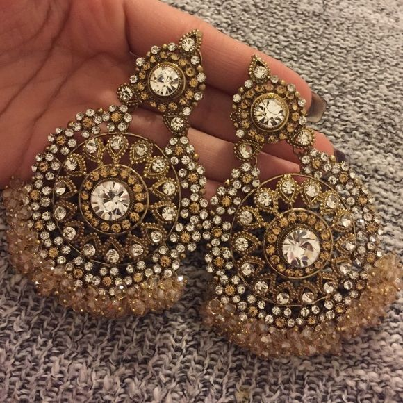 Earrings Pakistani/Indian style Jewelry Earrings