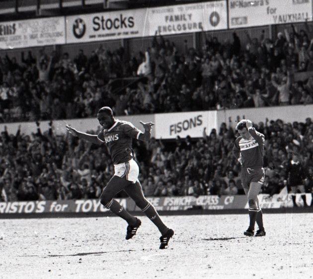 Dalian Atkinson, Ipswich v Middlesbrough April 1988