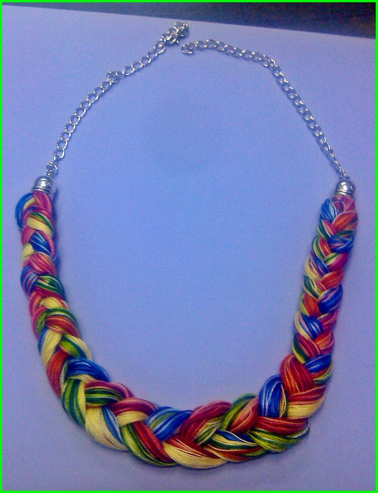 17 Best Images About Collares Trenzados On Pinterest