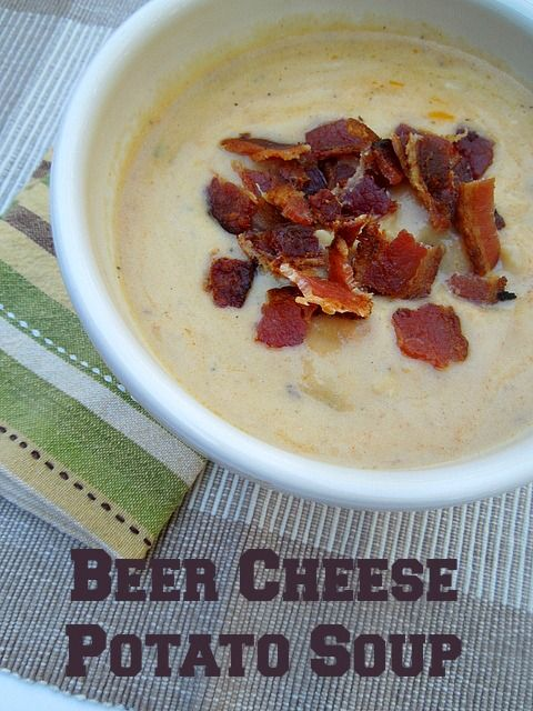Beer Cheese Potato Soup, it's my comfort food for cold and flu season #soup #pmedia #KeenexTarget
