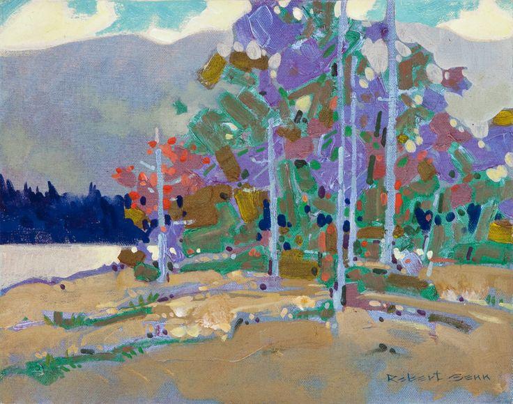 Laurie Lake, Gatineau by Robert Genn