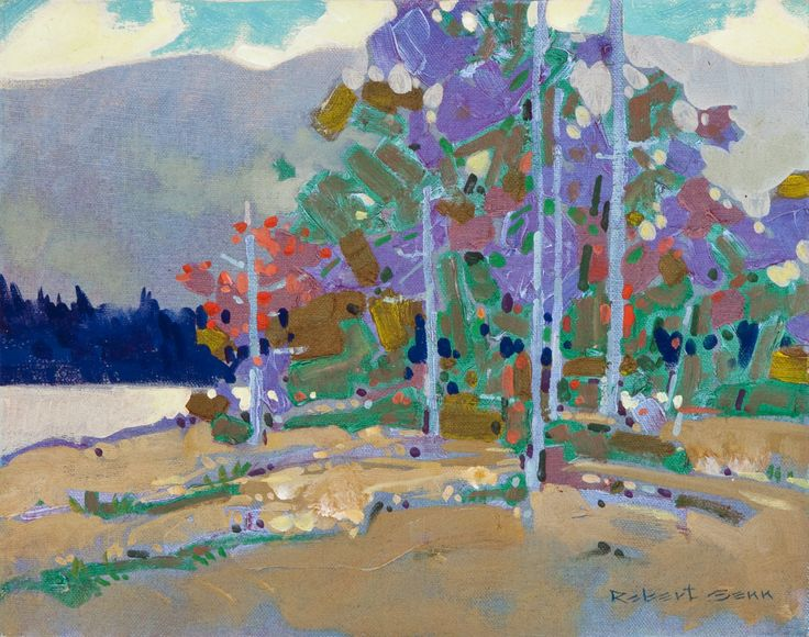 Laurie Lake Gatineau By Robert Genn Art By Other