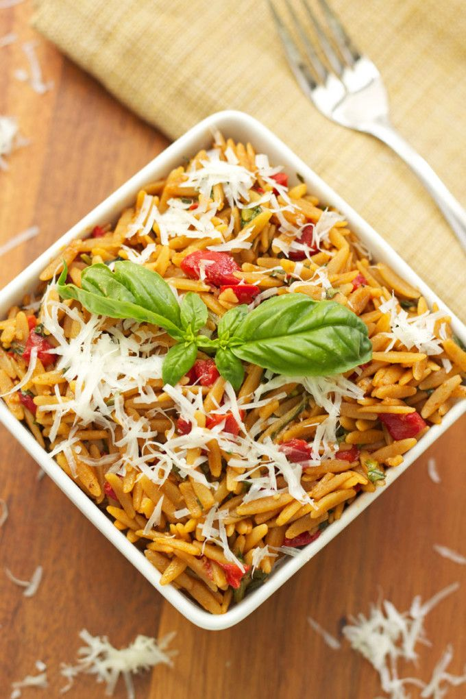 Do you ever find yourself staring at some grilled chicken or pork chops wondering what the heck you are going to serve with them? When it comes to side dishes I tend to fall short on ideas, but I'm working on it, starting with this Orzo with Spinach and Roasted Red Peppers. I think the...Read More »