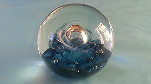 Evocative Vintage Caithness Paperweight QUICKSILVER Swirling Moment Tranquility | eBay