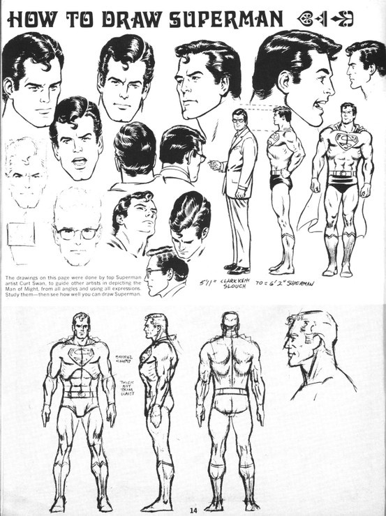 How to Draw Superman, Curt Swan
