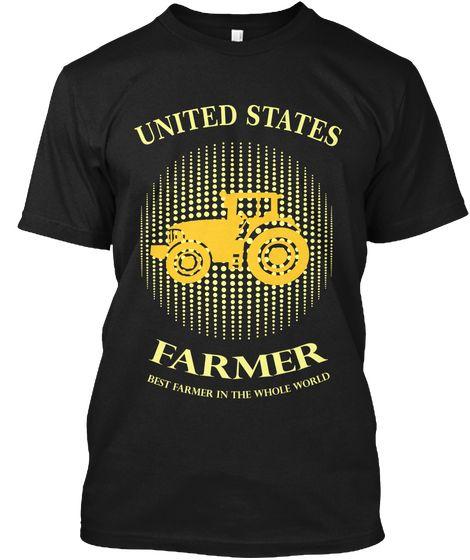 U.S Farmer Black Kaos Front