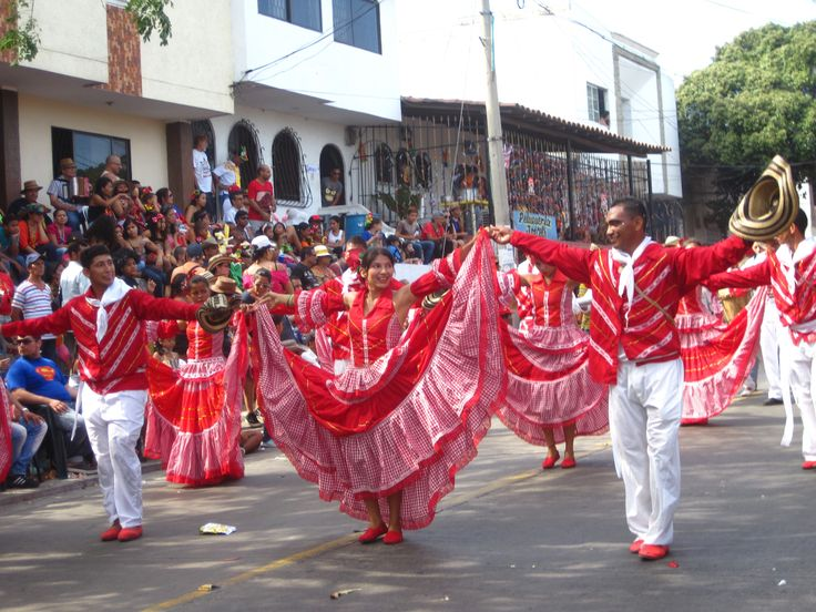 You hear lots of Cumbian music in Colombia. It is folk music from Latin American/Colombia.