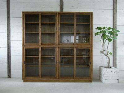 Indigo オーダー・オリジナル家具:引き戸の食器棚 FO24