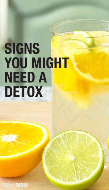 Check out these tips on detoxing.