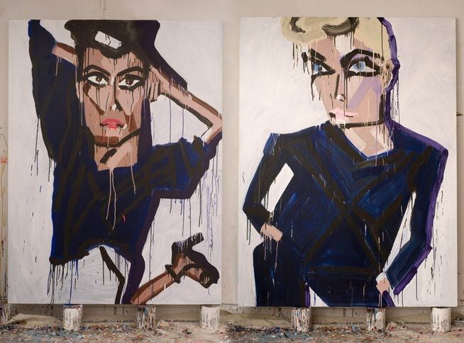 Katherine Bernhardt, Art Splash