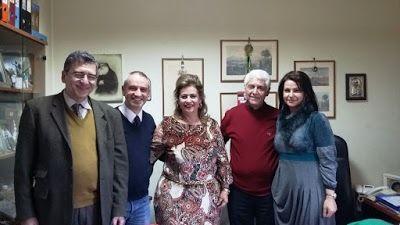 Συνάντηση Δημάρχου Θηβαίων με τη νέα Πρόεδρο του Δικηγορικού Συλλόγου Θήβας http://thivarealnews.blogspot.com/2018/02/synanthsh-thimo-thivas.html