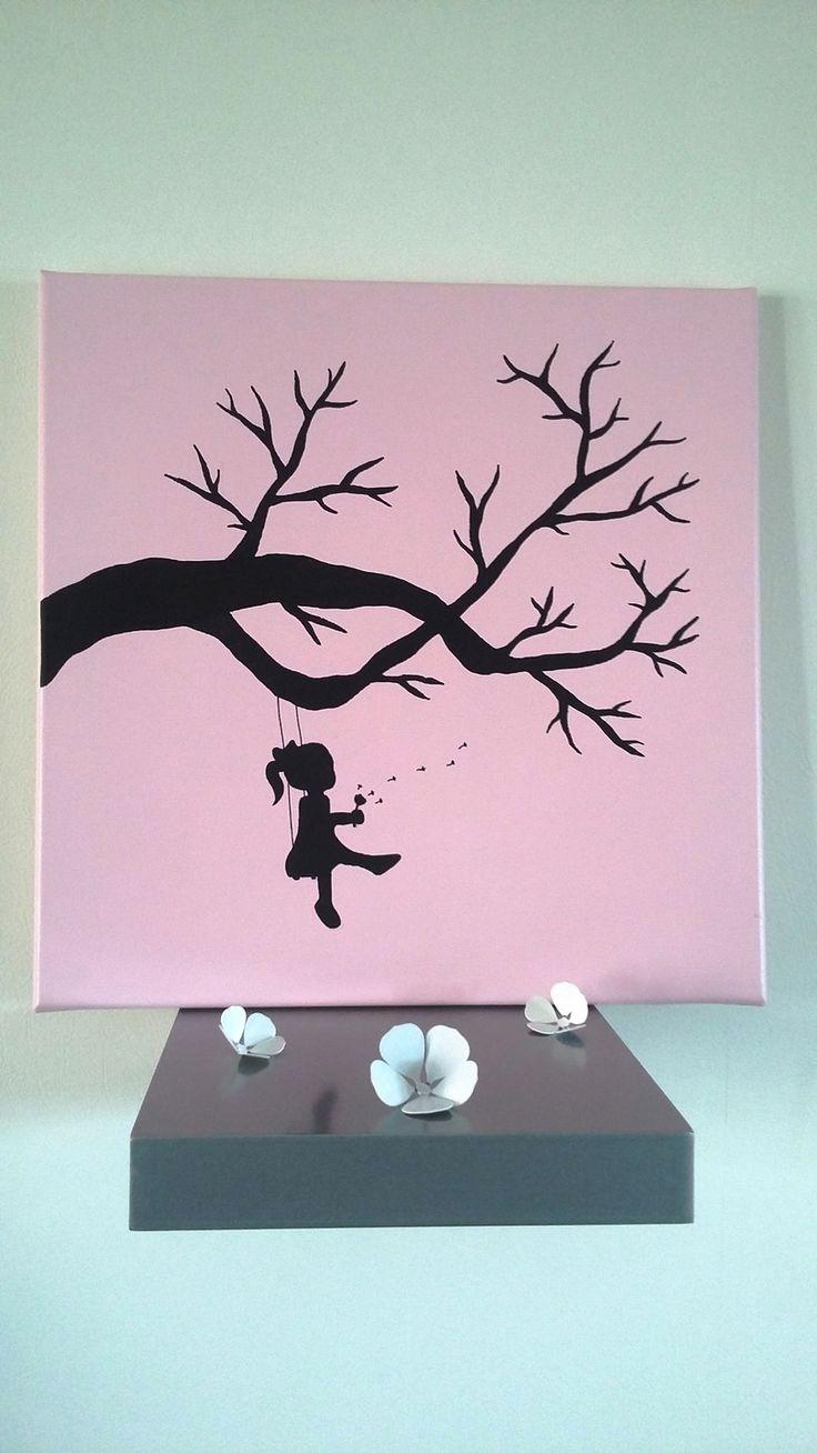 les 282 meilleures images propos de arbre empreinte. Black Bedroom Furniture Sets. Home Design Ideas