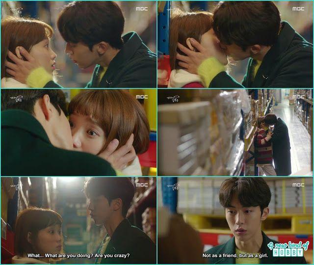 joon hyung confess his feeling to bok joo and kiss her - Weightlifting Fairy Kim Bok Joo: Episode 11