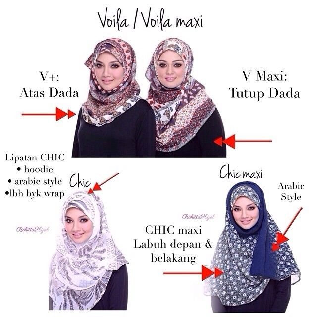 BOKITTA™ HIJAB REGIONAL (@bokittahijab) | Sizes hijab & design