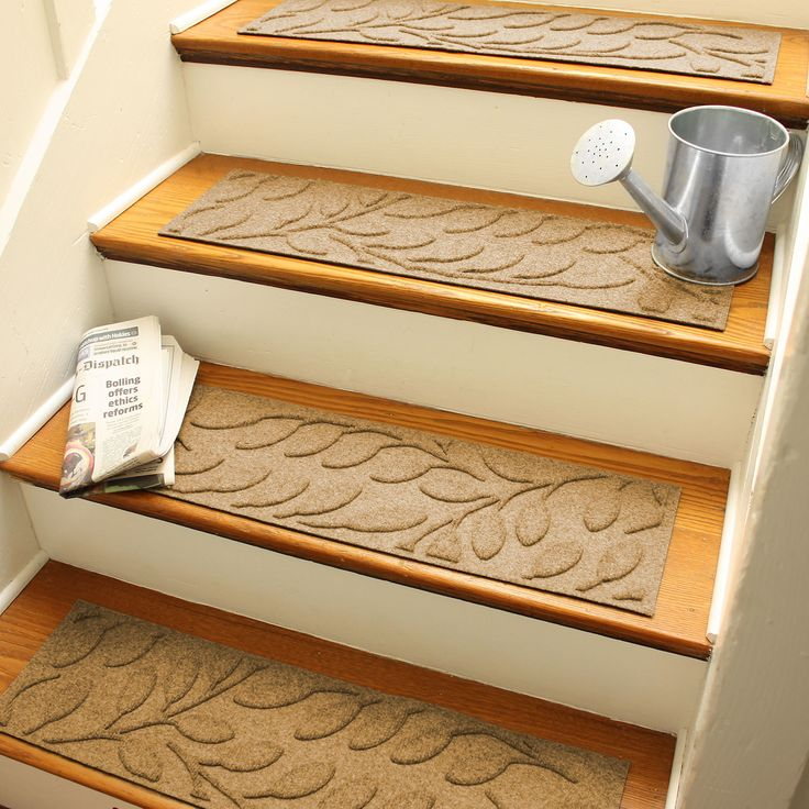58 Cool Ideas For Decorating Stair Risers: Best 25+ Stair Treads Ideas On Pinterest