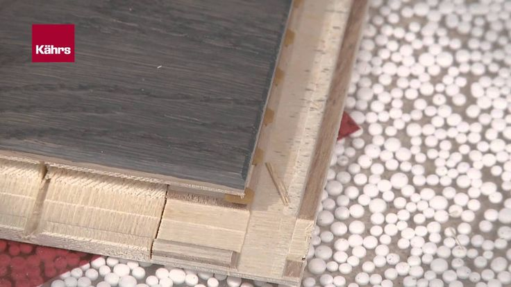 Videoanleitung wie einfach Sie Ihren neuen Parkettboden von Kährs fachgerecht verlegen können.