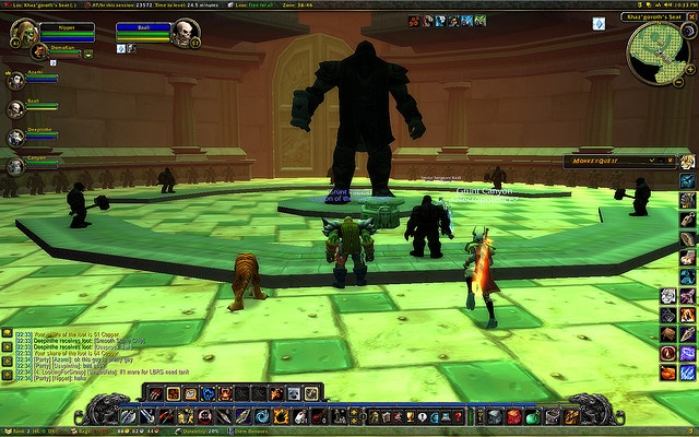 World of Warcraft World Of Warcraft addicted?? Check this http://www.inventeo.com/zygor-guides-review/