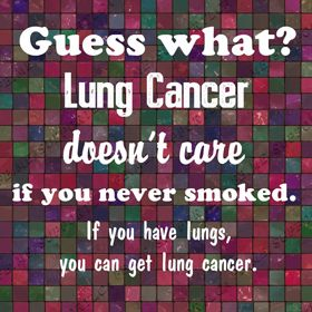 The Patient Power Blog | Lung Cancer Awareness Month