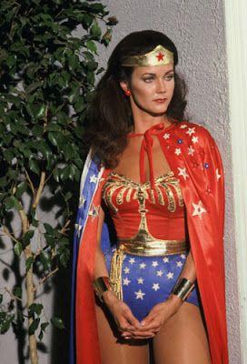 "Vintage Glamour Girls: Lynda Carter in "" Wonder Woman """