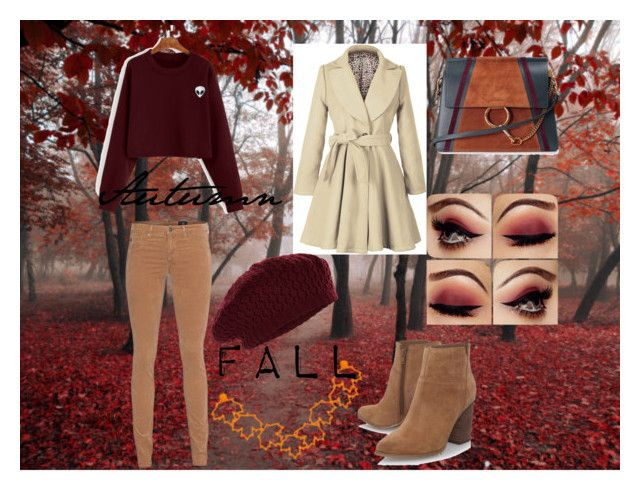 """""""Autumn/Fall"""" by slashbat on Polyvore featuring AG Adriano Goldschmied, Accessorize, Nine West, Chloé, Fall, contest, cozy, stylish and autumn"""