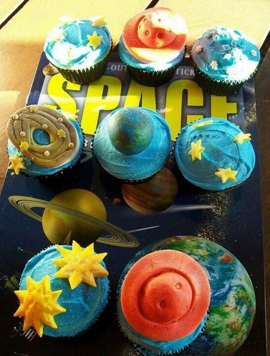solar system cupcakes | Cupcakes | Pinterest | Solar ...