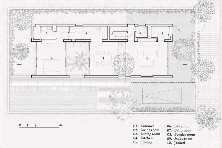 Vo Trong Nghia Architects, Hiroyuki Oki · Binh House