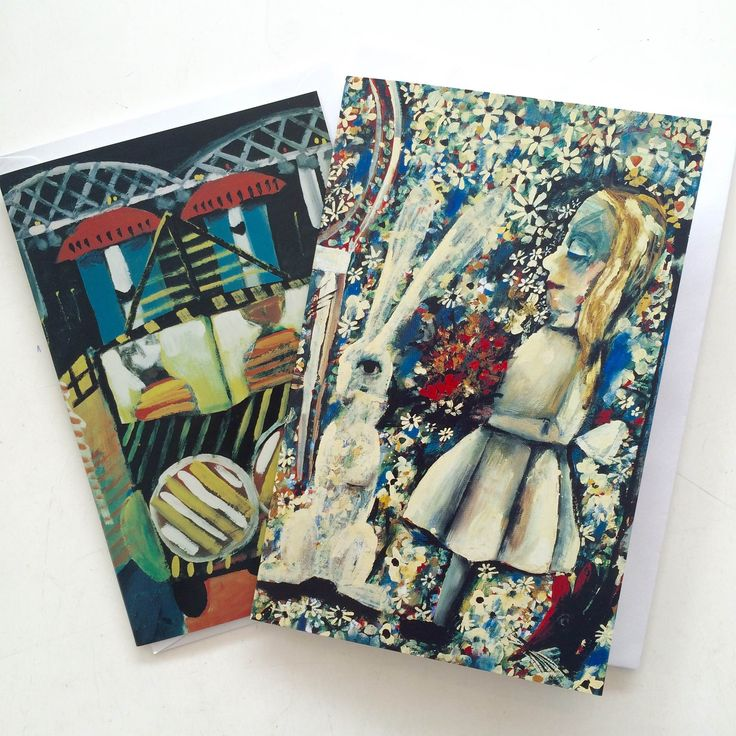 Charles Blackman greeting cards // Available in store now