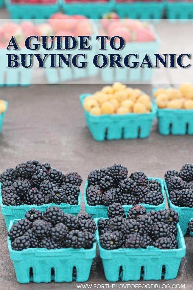 A Guide To Buying Organic {this is a great blog post to keep handy for reference}