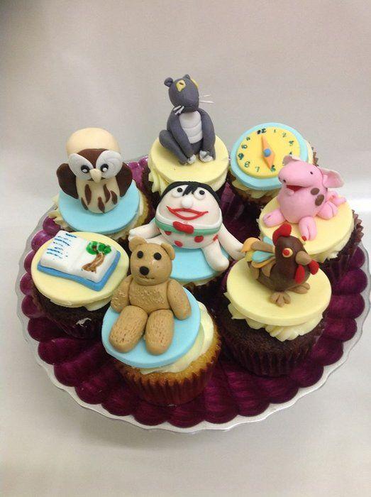 Playschool cupcakes (my 5 minutes, lol)