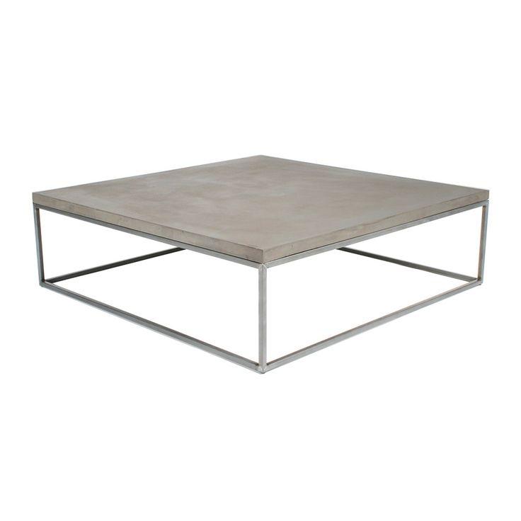 Concrete Coffee Table Pinterest 39 Te Fiskos Masalar Mobilya Ve Banklar Hakk Nda 1000 39 Den Fazla
