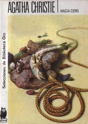 Mi primera novela Christie.... absolutamente notable.  Y en este caso la portada de mi edición favorita de los libros de Agatha Christie, la Molino con los dibujos de las pistas.
