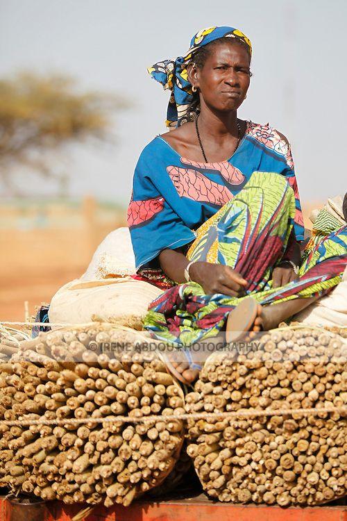 Djibo's weekly Wednesday market in northern Burkina Faso.