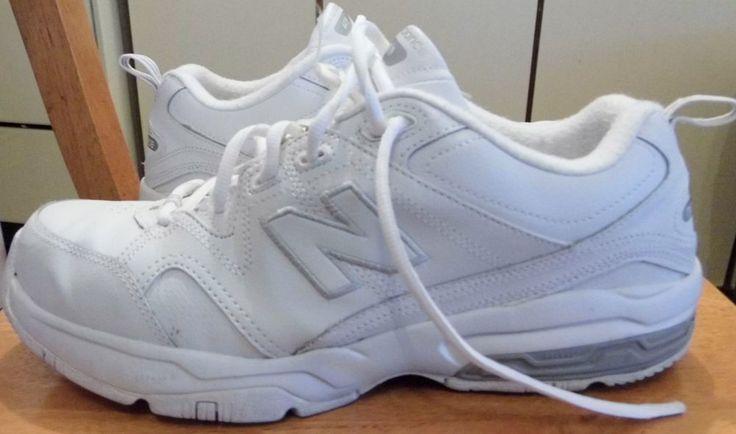 New Balance 609 V2A Men's White Leather Training Size 11 XX WIDE (4E) #NewBalance #RunningCrossTraining