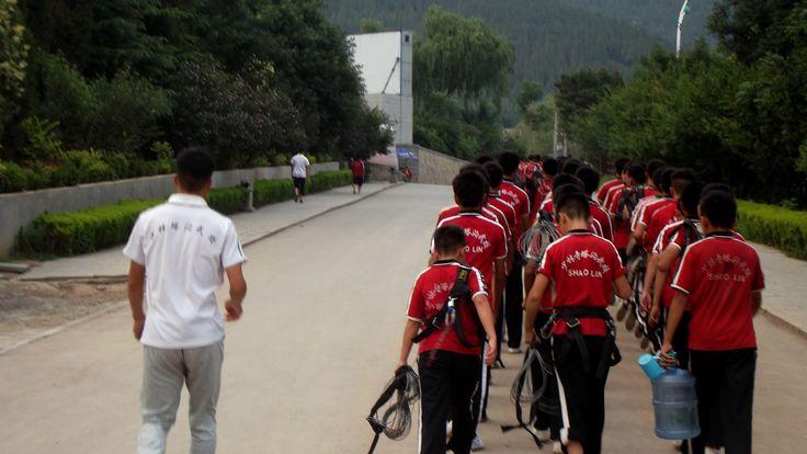 martial arts students, #Shaolin Temple