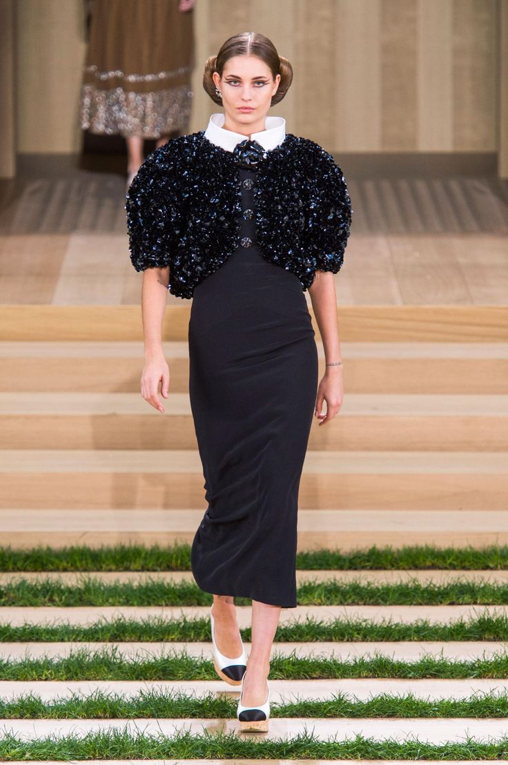 Karl Lagerfeld's latest spring Chanel Couture collection graced the Grand Palais. http://thecut.io/1KCXLYz