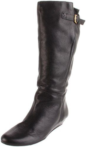 $149.00-$149.00 STEVEN by Steve Madden Women's Intyce Riding Boot,Black,8 M - Beautiful and lavish are just a few that come to mind when viewing this Steven by Steve Madden style.  Intyce has a rich leather upper in a gorgeous black coloring.  A wrapped 1 1/4 inch wedged heel creates the perfect amount of height while a buckle at the shaft give your calves a custom fit. http://www.amazon.com/dp/B000W9A5RC/?tag=icypnt-20