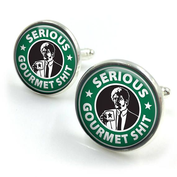 Pulp Fiction Cufflinks Quentin Tarantino john travolta