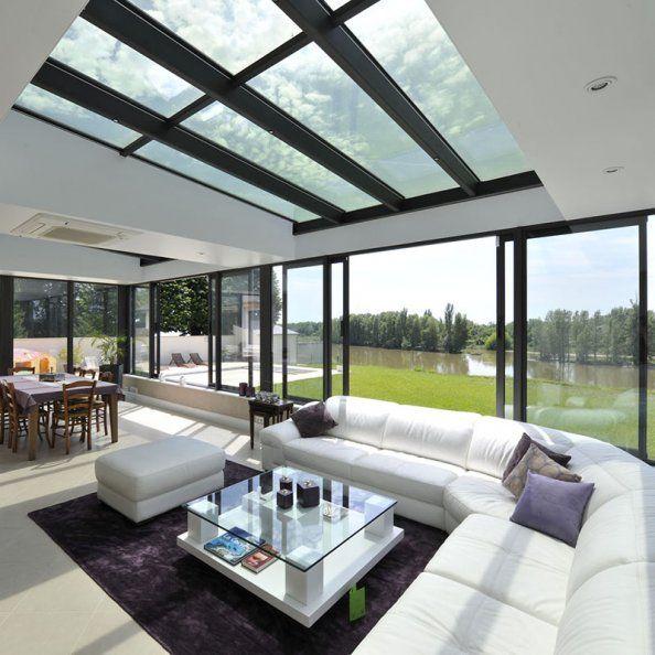 98 best images about v randa am nagement d co on pinterest rear extension verandas and. Black Bedroom Furniture Sets. Home Design Ideas