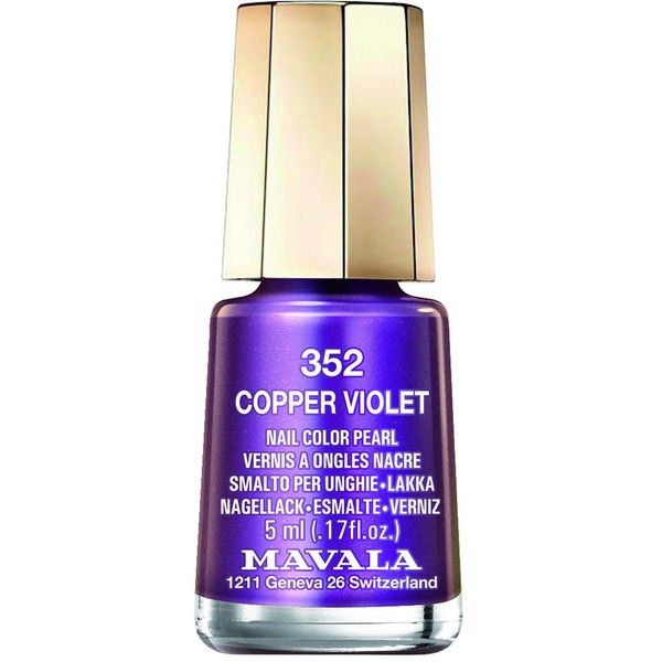 MAVALA Nail Lacquer ($7.12) ❤ liked on Polyvore featuring beauty products, nail care, nail polish, mavala nail polish and mavala