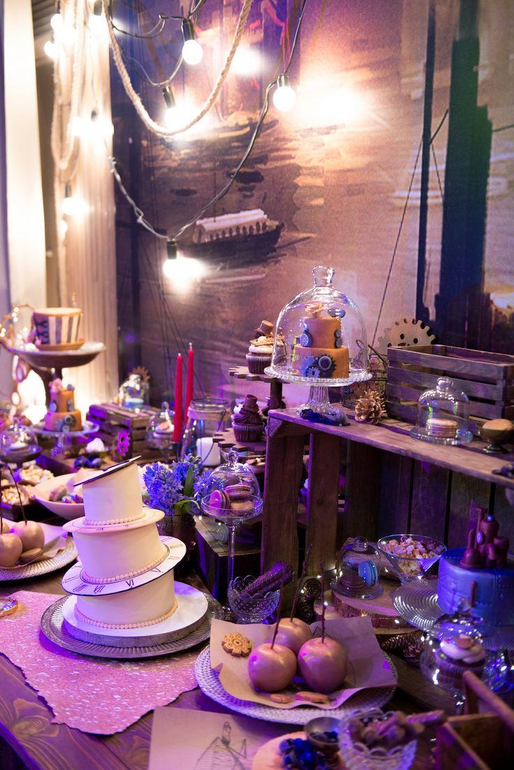 The Golden Compass b-day, children birthday, children birthday decorations, candy bar, детский день рождения, золотой компас, оформление праздника, сладости, торт, тематическое оформление
