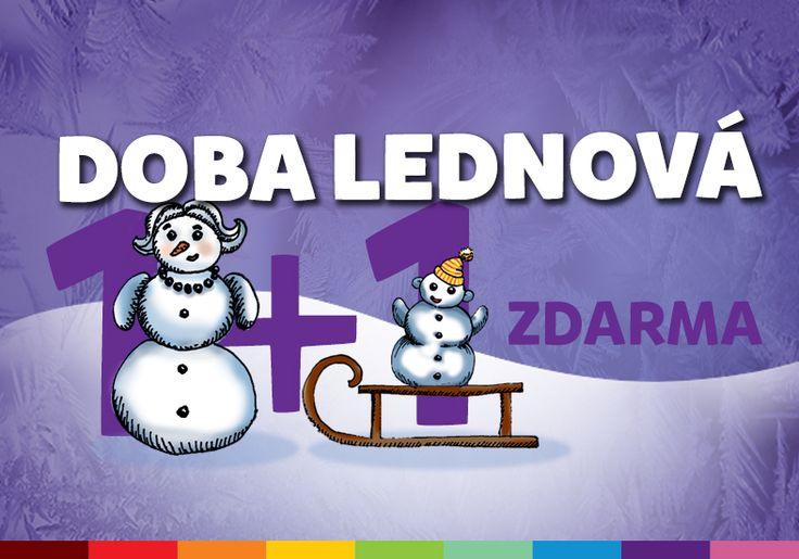 webový banner pro zimní kampaň