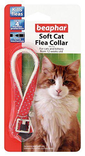 Beaphar Cat Flea Soft Collar Red Sparkle - Valentina Valentti Uk  //Price: $ & FREE Shipping //     #dog #dogs #pet #pets #cat #cats