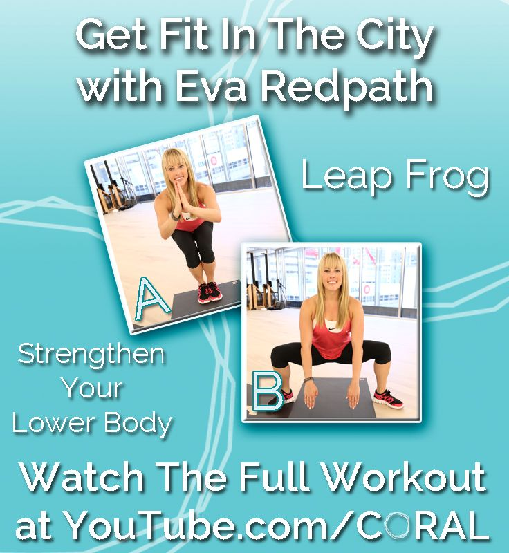 Leap Frog: This pose will help to strengthen your lower body.  Watch the video tutorial ft. @Eva Redpath to learn this move along with 4 more! http://www.youtube.com/watch?v=fNuvOPgN-j4=SPvPI4L2--Kmv1_QT8qXS7ZQFhSNaZmhmr=25 #Fitness #Exercise