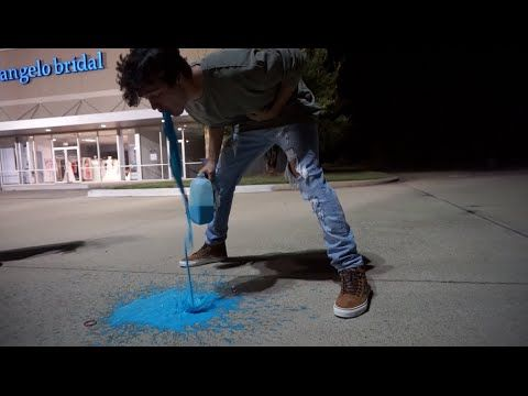 RAINBOW MILK CHALLENGE GONE WRONG | Aaron Carpenter