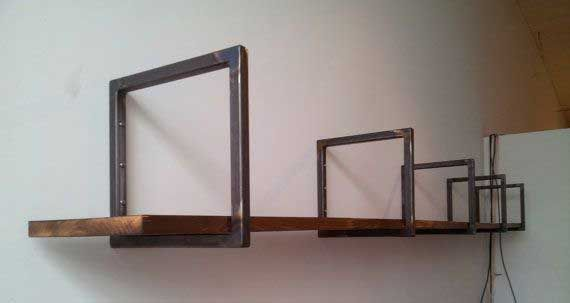3. Small metal brackets >> Cool Welding Projects You Can Do At Home