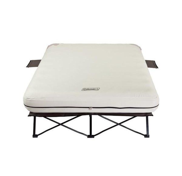 Queen Airbed Cot With Frame Camping Cot Air Mattress Coleman Cot